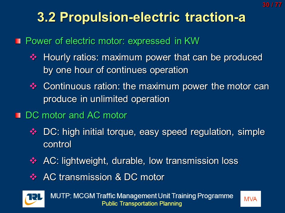3.2 Propulsion-electric traction-a