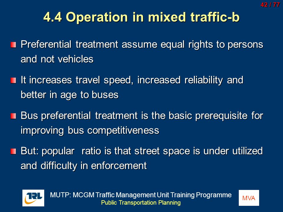 4.4 Operation in mixed traffic-b