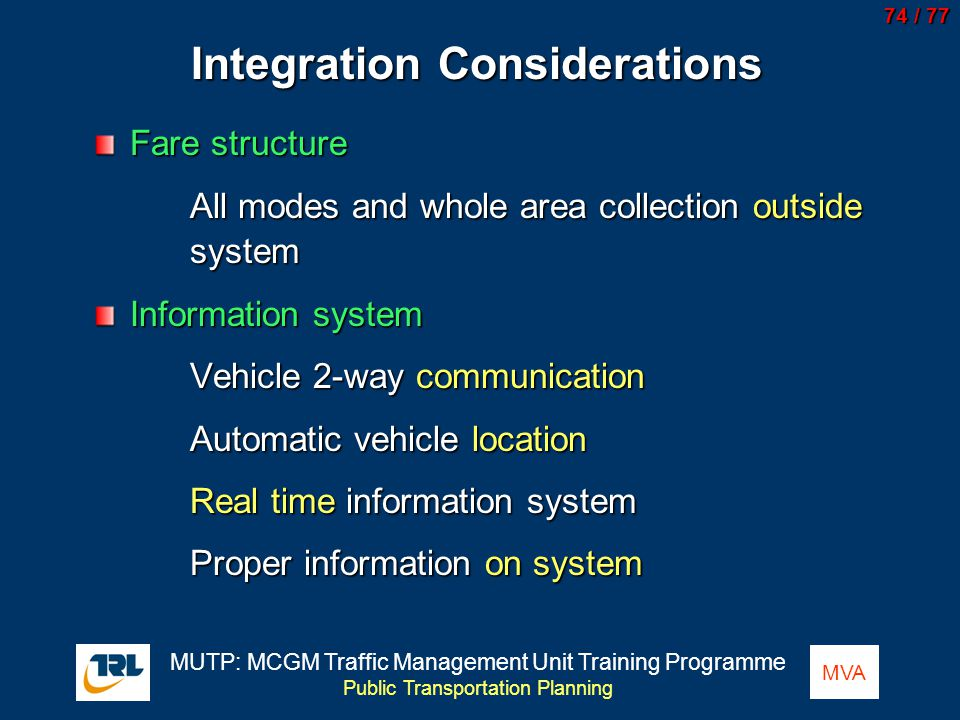 Integration Considerations