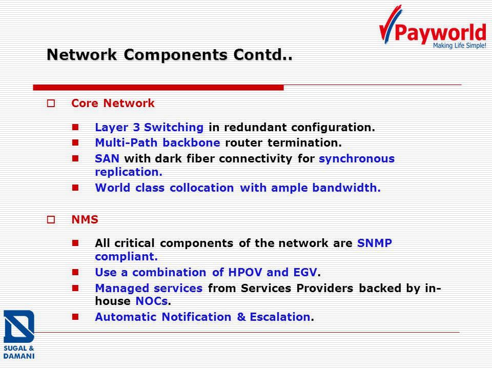 Network Components Contd..