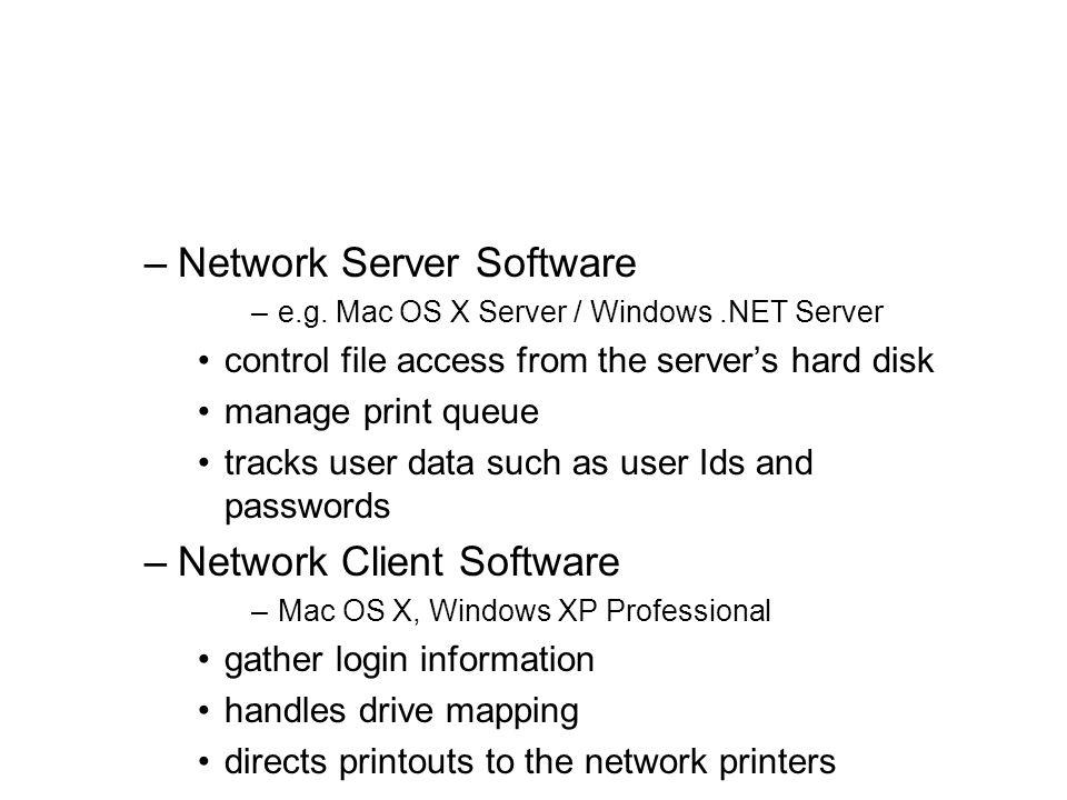 Network Server Software