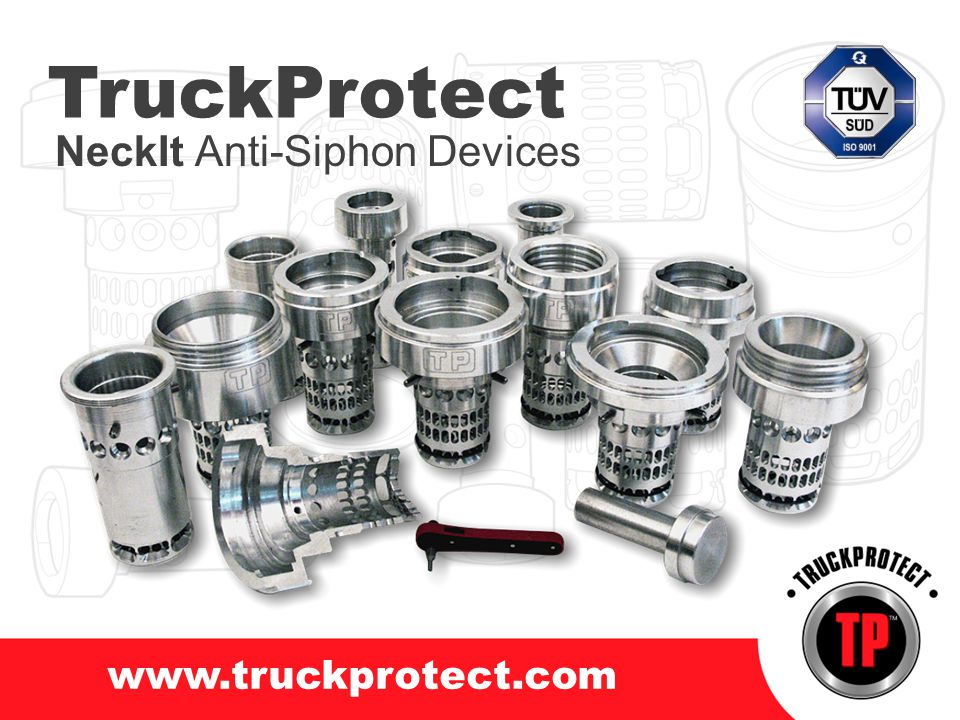 TruckProtect NeckIt Anti-Siphon Devices www.truckprotect.com