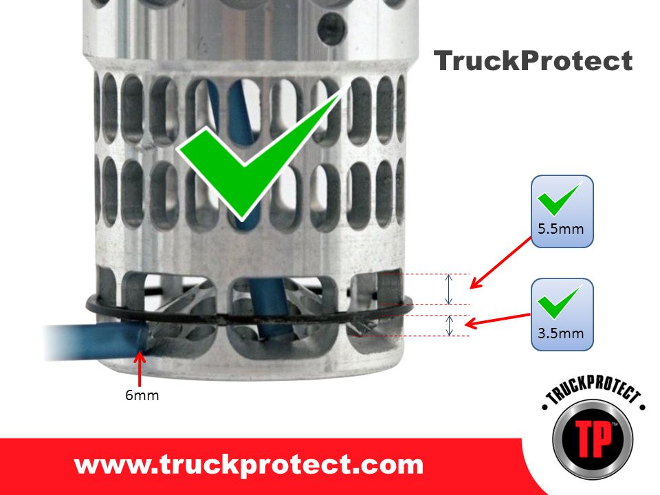 TruckProtect 5.5mm 3.5mm 6mm www.truckprotect.com