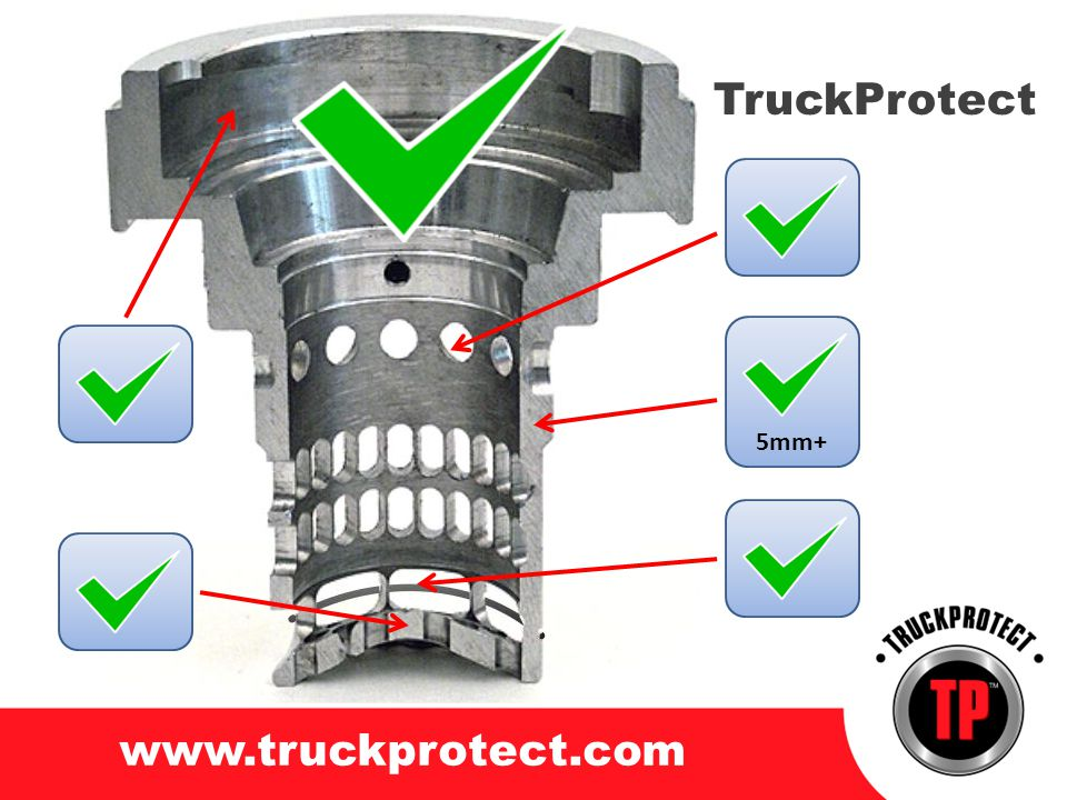 TruckProtect www.truckprotect.com 5mm+