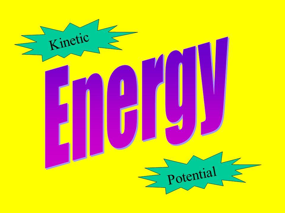 Energy Kinetic Potential