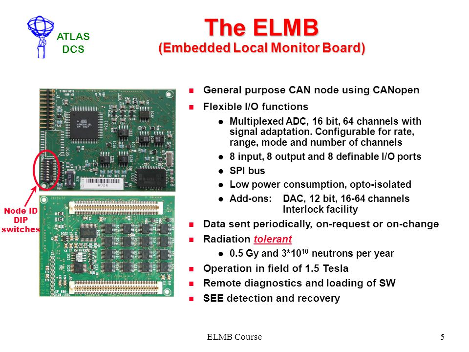 The ELMB (Embedded Local Monitor Board)