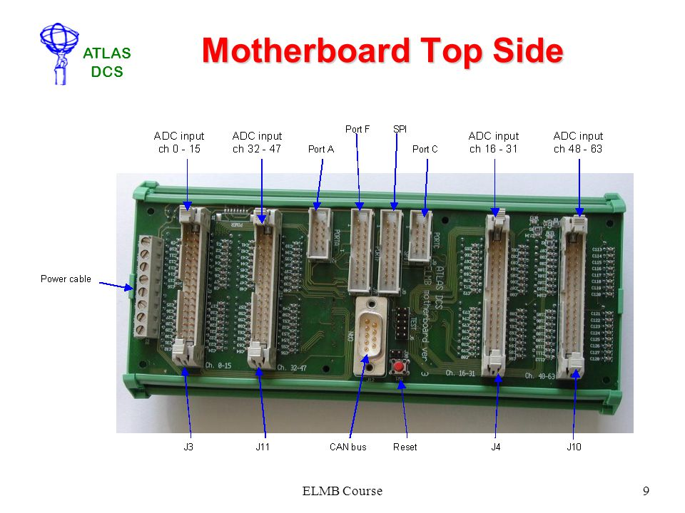 Motherboard Top Side ELMB Course