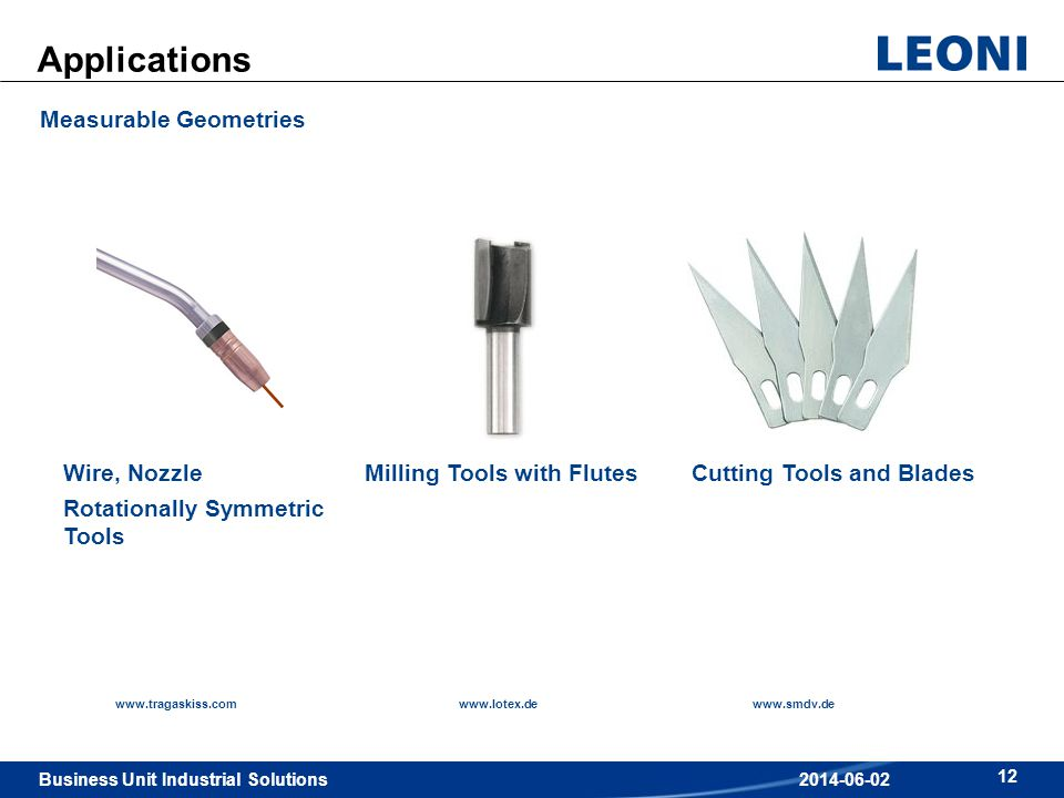 Applications Measurable Geometries Wire, Nozzle