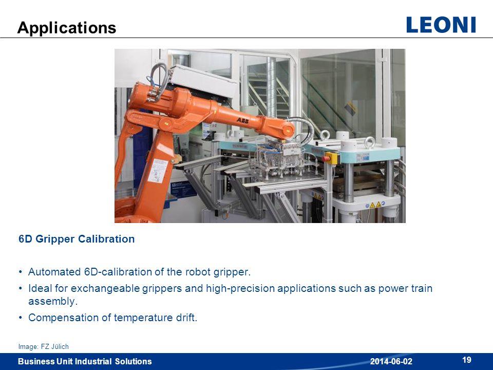 Applications 6D Gripper Calibration