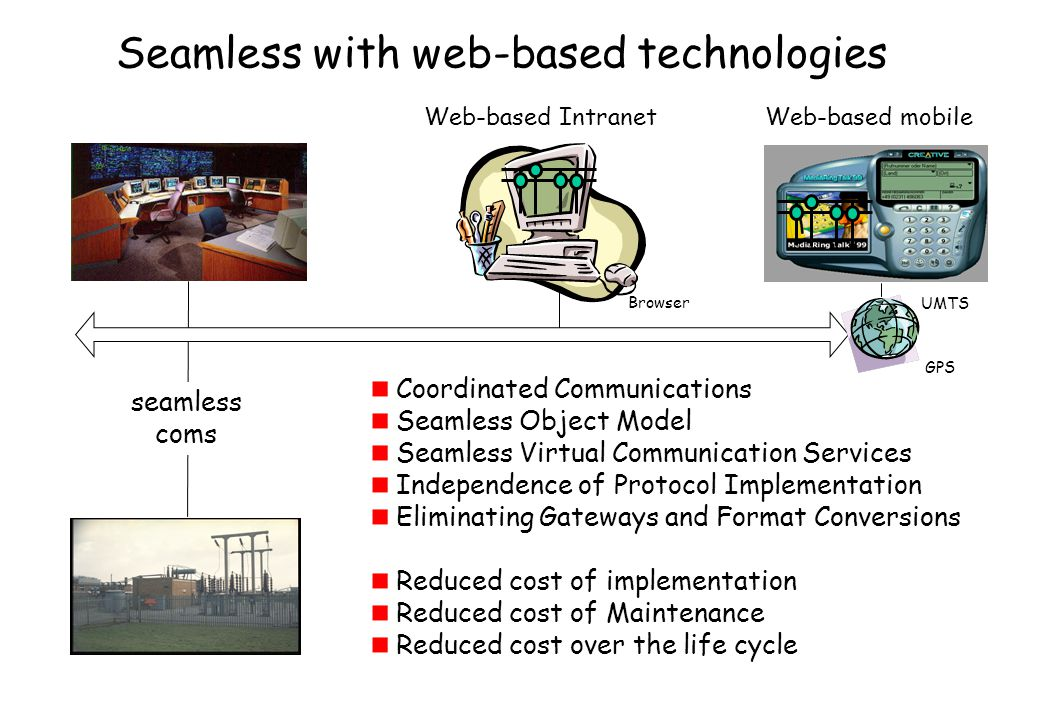 Seamless with web-based technologies