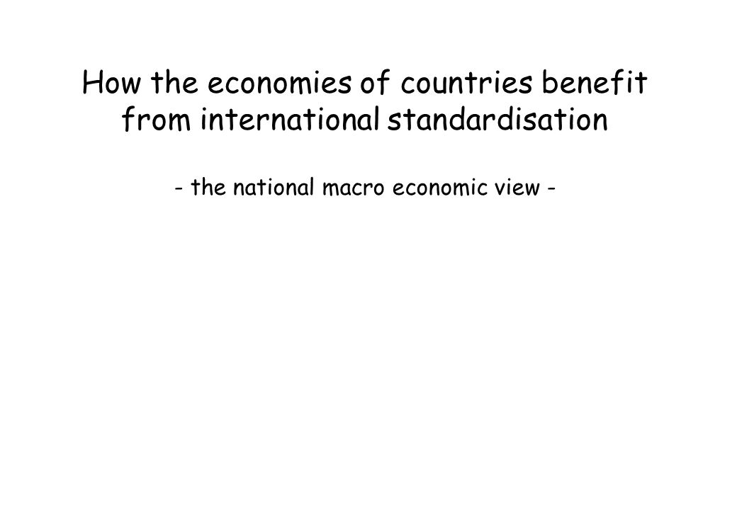 - the national macro economic view -