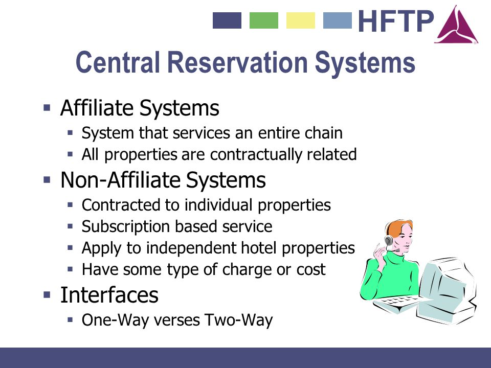 Central Reservation Systems