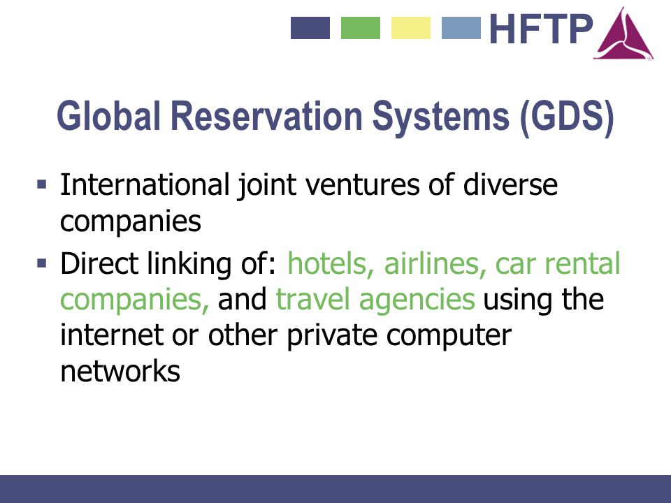 Global Reservation Systems (GDS)