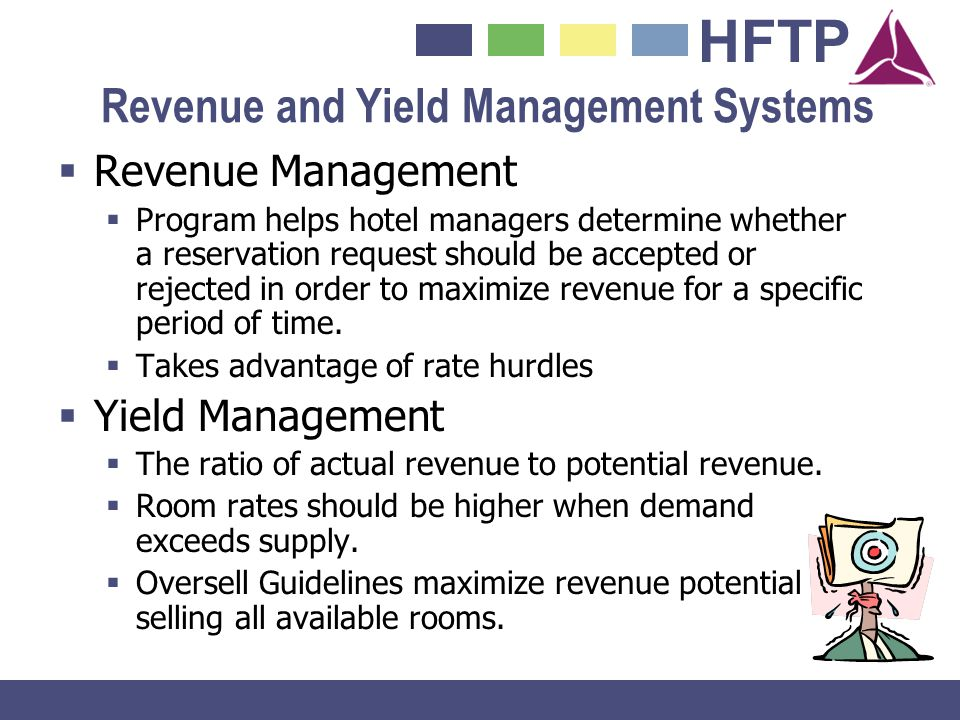Revenue and Yield Management Systems