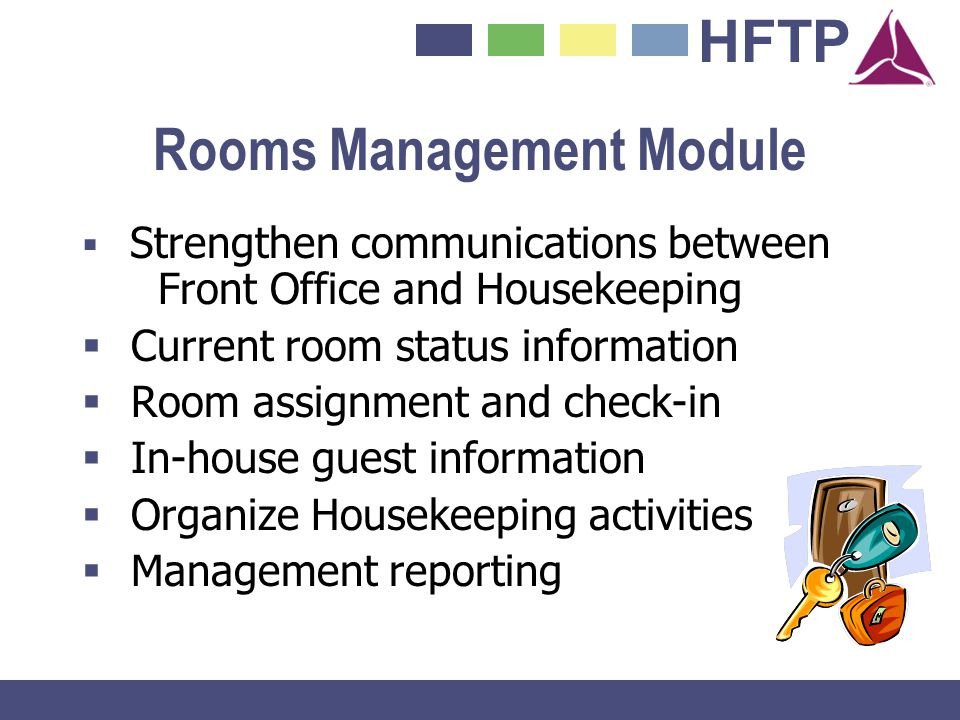 Rooms Management Module