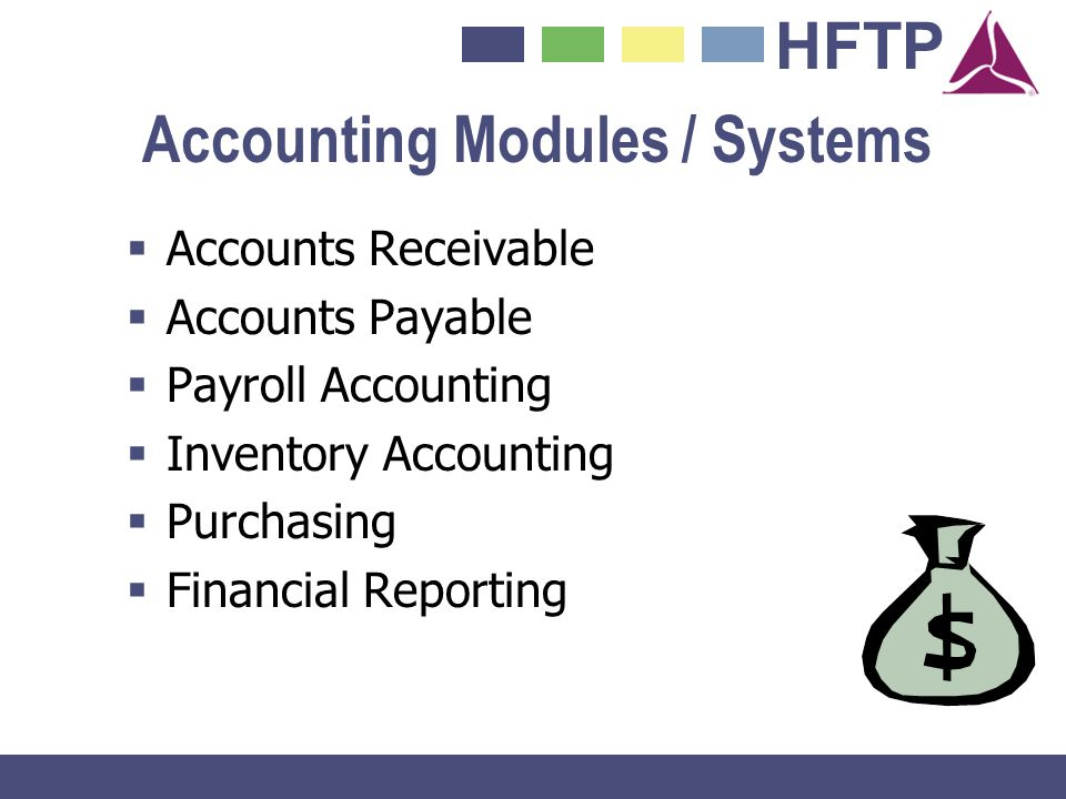Accounting Modules / Systems