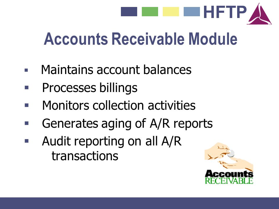 Accounts Receivable Module