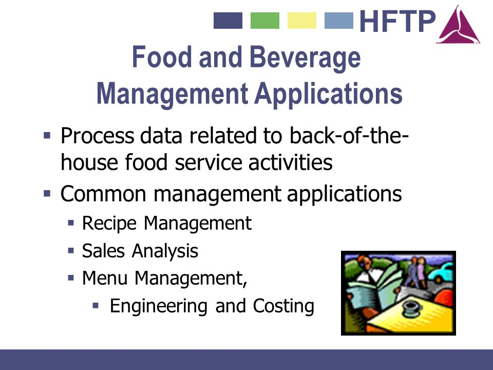 Food and Beverage Management Applications