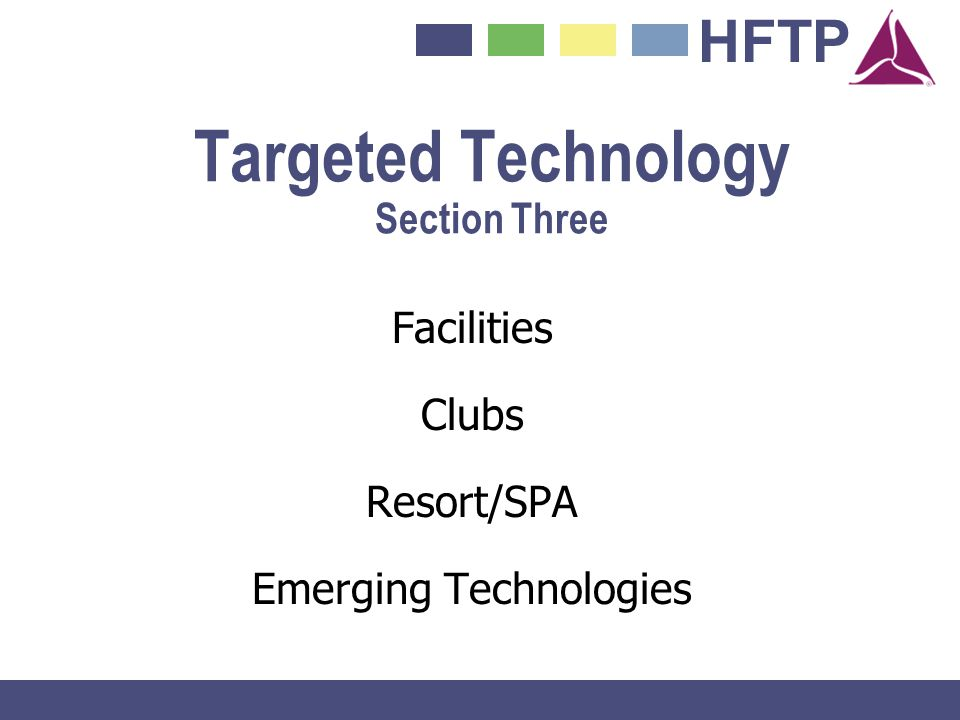 Targeted Technology Section Three