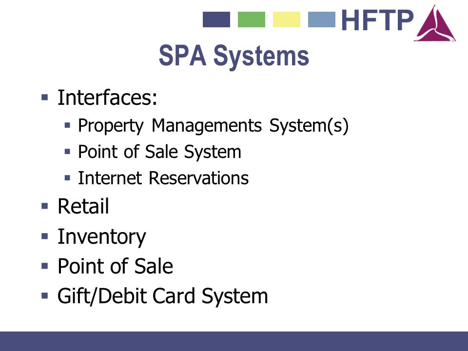 SPA Systems Interfaces: Retail Inventory Point of Sale