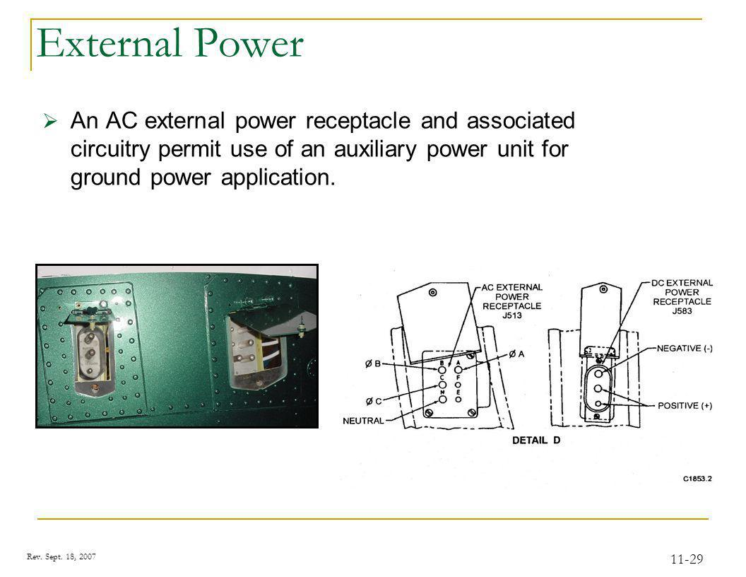 Transfer AC Power The de-energized relays remove both No. 2 primary and No. 2 monitored AC bus loads from the No. 2 generator.