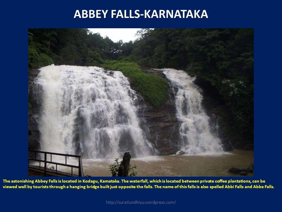 ABBEY FALLS-KARNATAKA