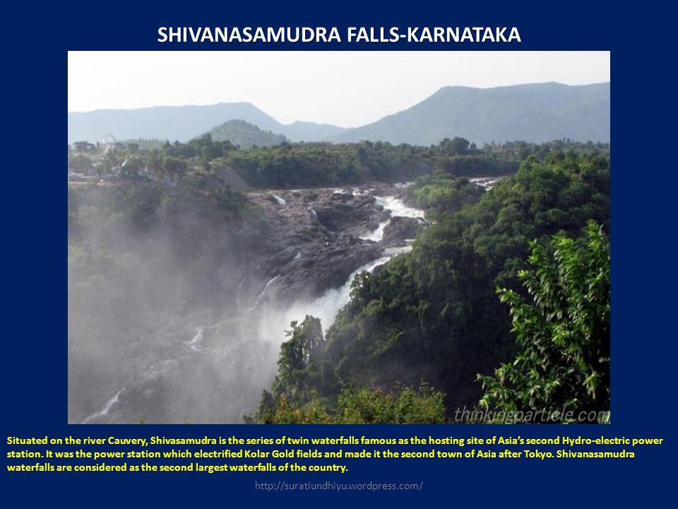 SHIVANASAMUDRA FALLS-KARNATAKA