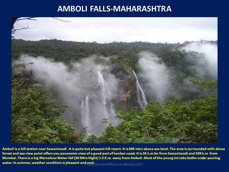 AMBOLI FALLS-MAHARASHTRA