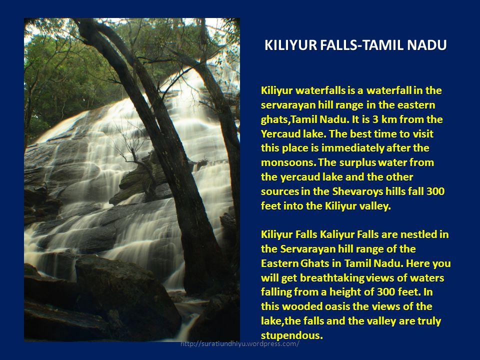 KILIYUR FALLS-TAMIL NADU