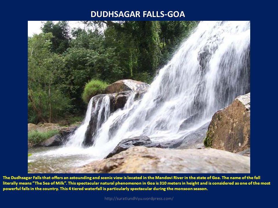 DUDHSAGAR FALLS-GOA