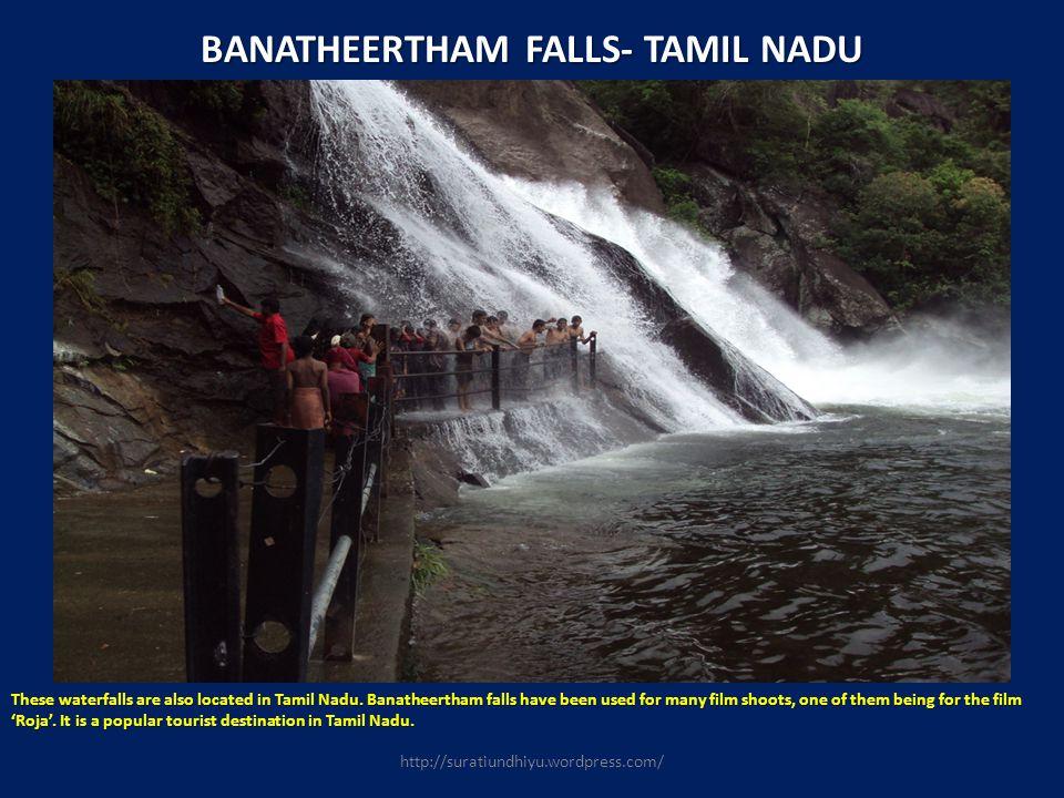 BANATHEERTHAM FALLS- TAMIL NADU