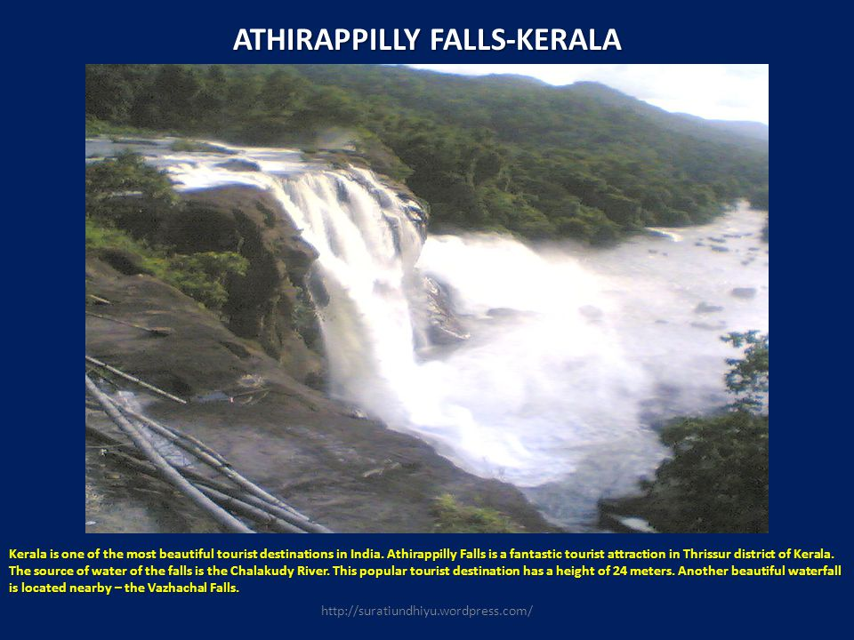 ATHIRAPPILLY FALLS-KERALA