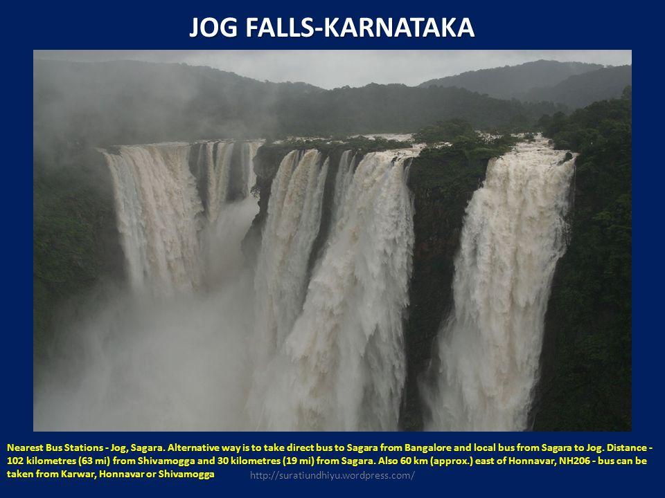 JOG FALLS-KARNATAKA