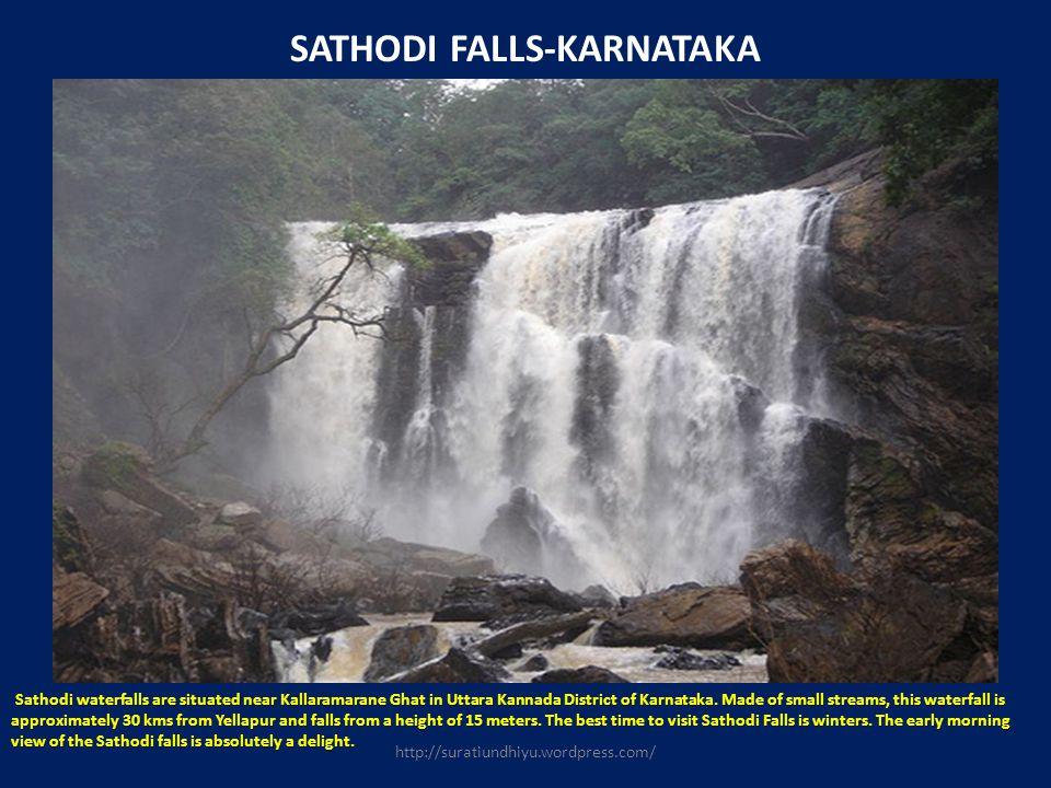 SATHODI FALLS-KARNATAKA