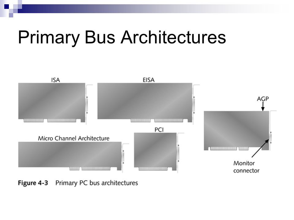 Primary Bus Architectures