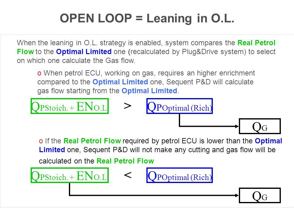 OPEN LOOP = Leaning in O.L.