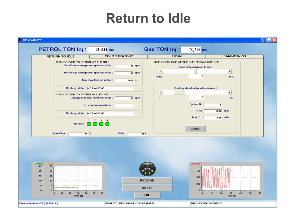 Return to Idle