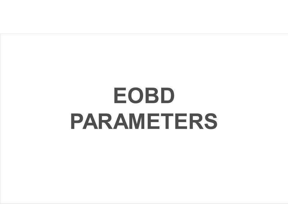 EOBD PARAMETERS Concetti Base dei Sistemi Sequent