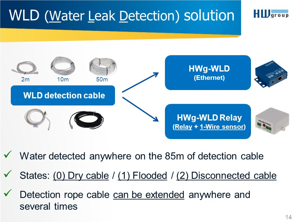 WLD (Water Leak Detection) solution
