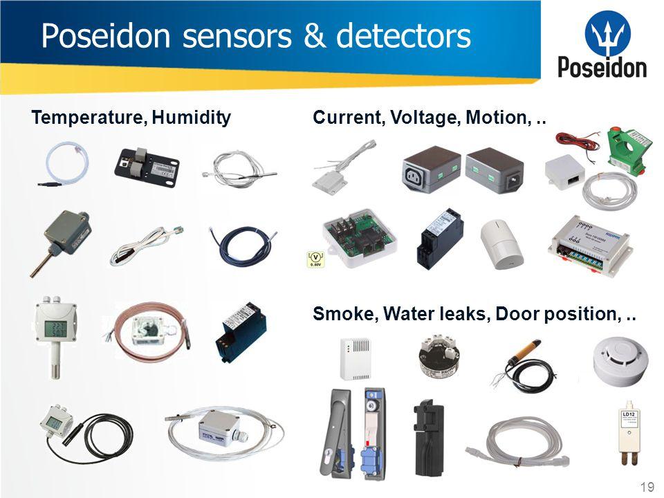 Poseidon sensors & detectors