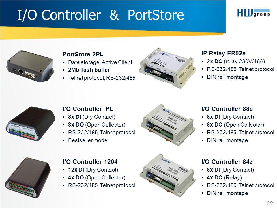 I/O Controller & PortStore