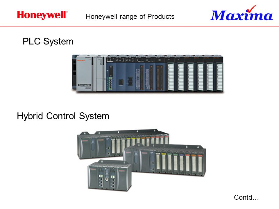 Honeywell range of Products