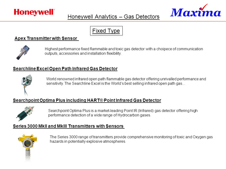 Honeywell Analytics – Gas Detectors