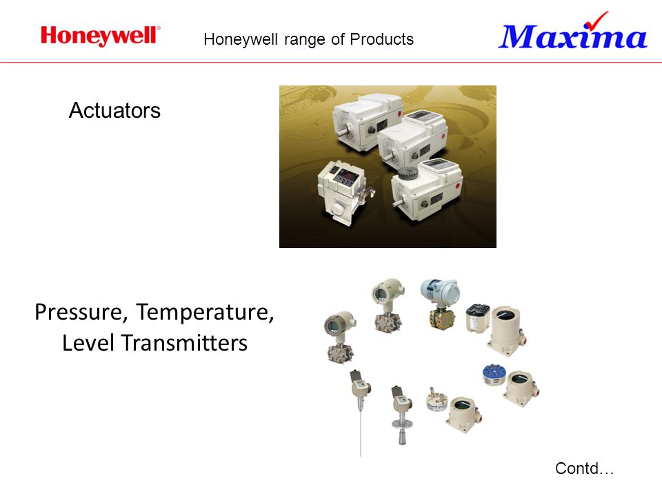 Pressure, Temperature, Level Transmitters