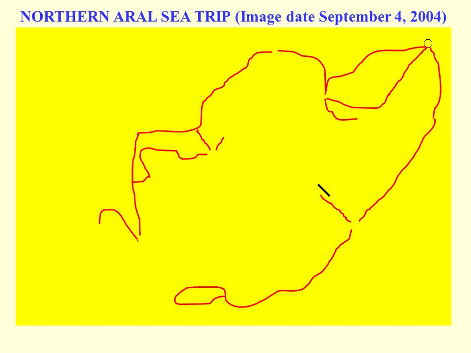 NORTHERN ARAL SEA TRIP (Image date September 4, 2004)