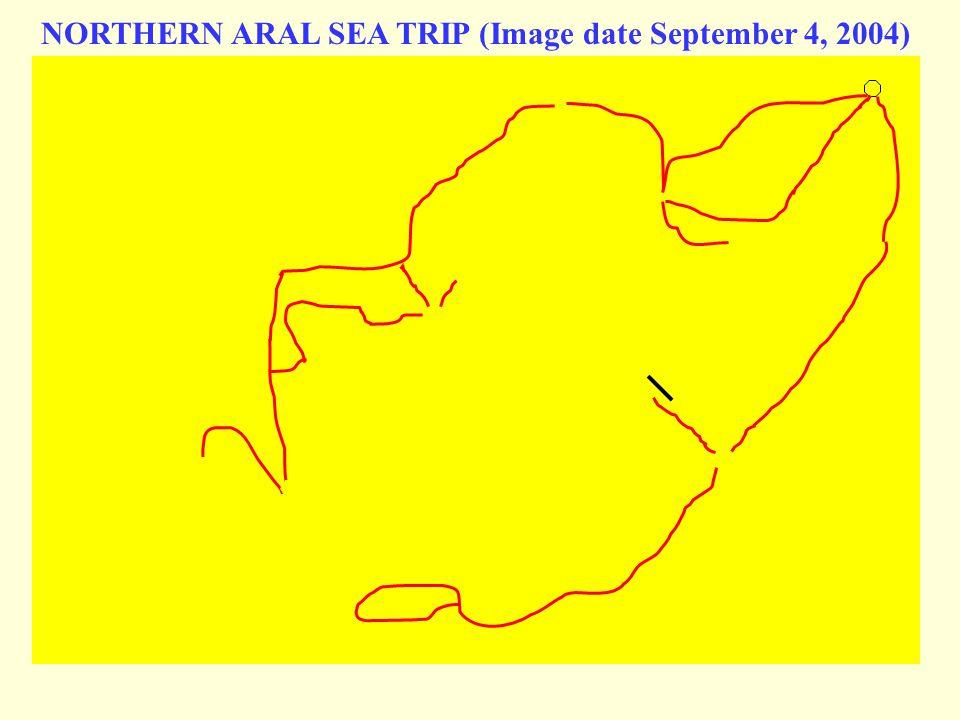 NORTHERN ARAL SEA TRIP (Image date September 4, 2004)