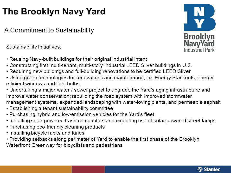 The Brooklyn Navy Yard A Commitment to Sustainability
