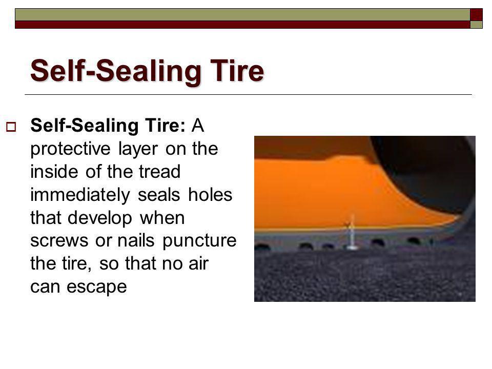 Self-Sealing Tire