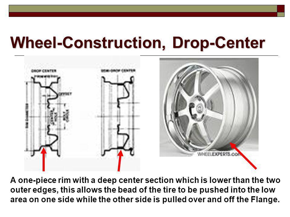 Wheel-Construction, Drop-Center