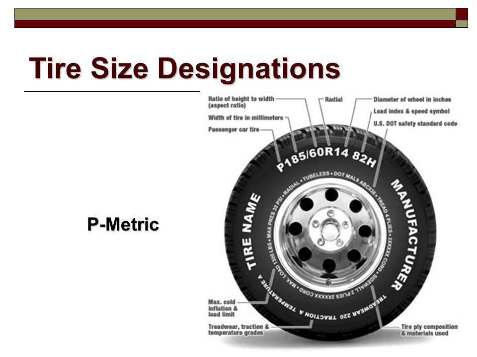 Tire Size Designations